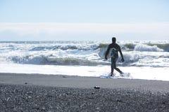Arktyczna kipiel Iceland obraz stock