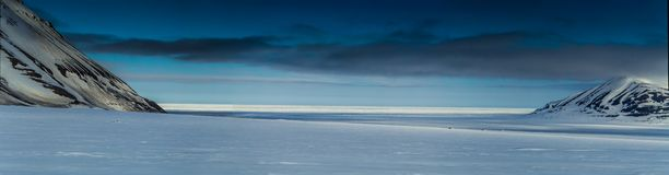Arktyczna wiosna w południowym Spitsbergen Obrazy Stock