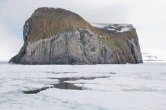 Arktyczna wyspa Obraz Royalty Free