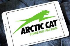 Arktycznego kota firmy Automobilowy logo fotografia stock