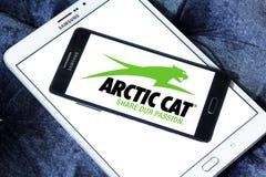 Arktycznego kota firmy Automobilowy logo zdjęcie stock