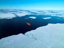 Arktyczny lodowiec Obrazy Royalty Free