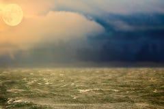 Arktyczny ocean od wzrosta ptasi lot Zdjęcie Stock