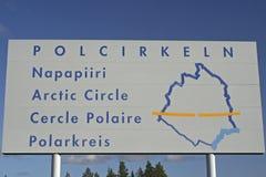 Arktyczny okrąg Zdjęcie Royalty Free