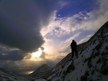 arktyka krajobrazu Obrazy Royalty Free