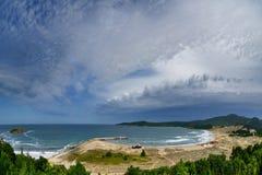 Arkutino на Чёрном море Стоковые Изображения RF
