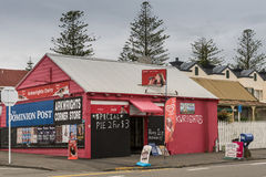 Arkwrights Dairy corner store in Napier, New Zealand. Stock Photo