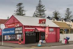 Arkwrights nabiału kąta sklep w Napier, Nowa Zelandia Zdjęcie Stock