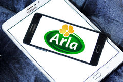 Arla foods company logo Royalty Free Stock Photos