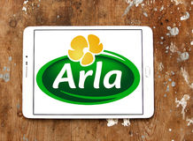 Arla foods company logo Stock Photos