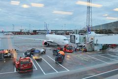 Arlanda机场 图库摄影