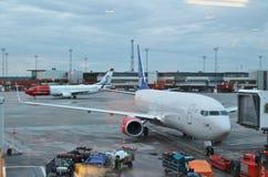 Arlanda lotnisko Obrazy Royalty Free