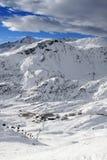 Arlberg. Skiing Region Arlberg. Vorarlberg. Austria Royalty Free Stock Photography