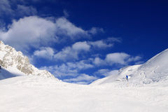 Arlberg. Skiing Region Arlberg. Vorarlberg. Austria Stock Image