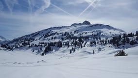 Arlberg. Mountain in vorarlberg Royalty Free Stock Photos