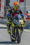 Arlberg Racing Team. 24 Hours of Catalunya Motorcycling Stock Images