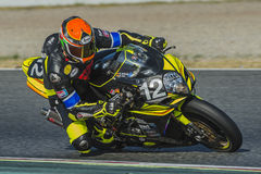Arlberg Racing Team. 24 Hours of Catalunya Motorcycling. At Circuit of Catalonia. Barcelona, Spain, July 10, 2016 Stock Photos