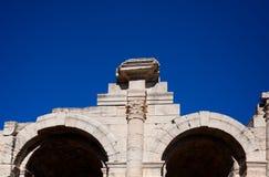 Arles圆形露天剧场 库存照片