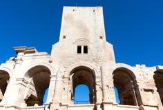 Arles圆形露天剧场 库存图片