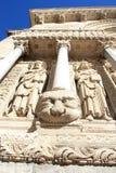 arles γλυπτά καθεδρικών ναών Στοκ εικόνα με δικαίωμα ελεύθερης χρήσης
