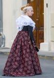 Arles, γυναίκα με το παραδοσιακό κοστούμι Στοκ φωτογραφίες με δικαίωμα ελεύθερης χρήσης