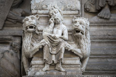 Arles, εκκλησία Άγιος-Trophime Στοκ φωτογραφίες με δικαίωμα ελεύθερης χρήσης