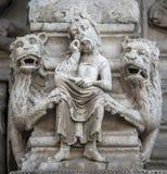 Arles, εκκλησία Άγιος-Trophime Στοκ εικόνα με δικαίωμα ελεύθερης χρήσης