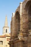 Arles (Προβηγκία, Γαλλία). Κάθετα. Στοκ Φωτογραφίες
