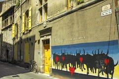 Arles (Προβηγκία, Γαλλία) Στοκ φωτογραφίες με δικαίωμα ελεύθερης χρήσης