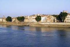 Arles στον ποταμό Στοκ εικόνα με δικαίωμα ελεύθερης χρήσης