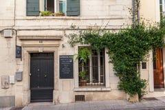 Arles χαρακτηριστική χτίζοντας Γαλλία Στοκ φωτογραφίες με δικαίωμα ελεύθερης χρήσης