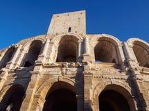 Arles amfiteater Arkivbild