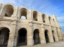 Arles amphitheater in France Stock Photos