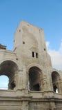 Arles Amphitheather,法国 库存图片