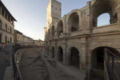 Arles Amphitheatre, France Royalty Free Stock Images