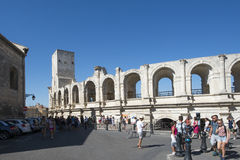 Arles Amphitheatre, France Stock Photos