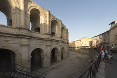 Arles Amphitheatre, France Royalty Free Stock Photos