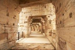 Arles-Amphitheatre, Frankreich lizenzfreie stockfotos