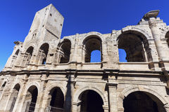 Arles Amphitheatre Stock Photo