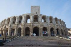 ` Arles Arènes d в Франции стоковое изображение rf