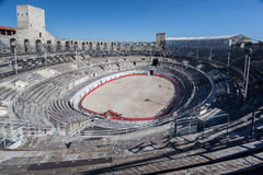 Arles Arena France Stock Photo
