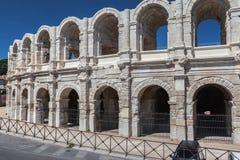 Arles Arena France. Plaza de Toros de Arles in Provence, France Stock Photography