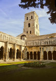Arles cloister royalty free stock image