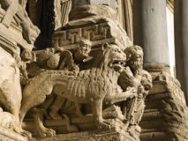 Arles - die Kirche von Str. Trophime Stockfotos