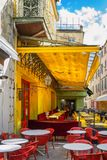 Cafe Van Gogh at Place du Forum in Arles stock image