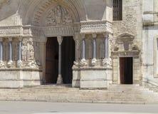 Arles in Frankrijk stock foto
