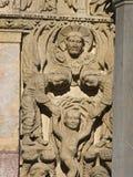 Arles - l'église de la rue Trophime Images libres de droits
