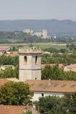 Arles, Montmajour Abtei Stockfotos