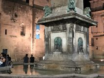 Arles' fountain royalty free stock image