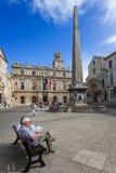 Arles - Place de Λα Republique Στοκ Φωτογραφία